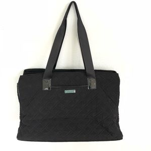 Vera Bradley triple compartment tote